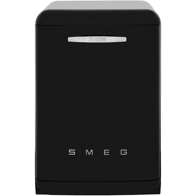 Smeg 50's Retro DF6FABBL Standard Dishwasher - Black - A+++ Rated Best Price, Cheapest Prices