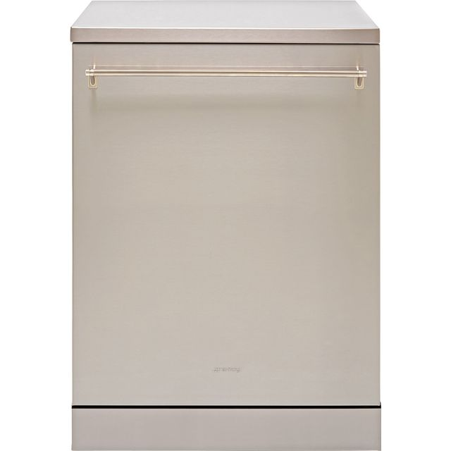 Smeg DFA13T3X Standard Dishwasher - Stainless Steel - A+++ Rated - DFA13T3X_SS - 1