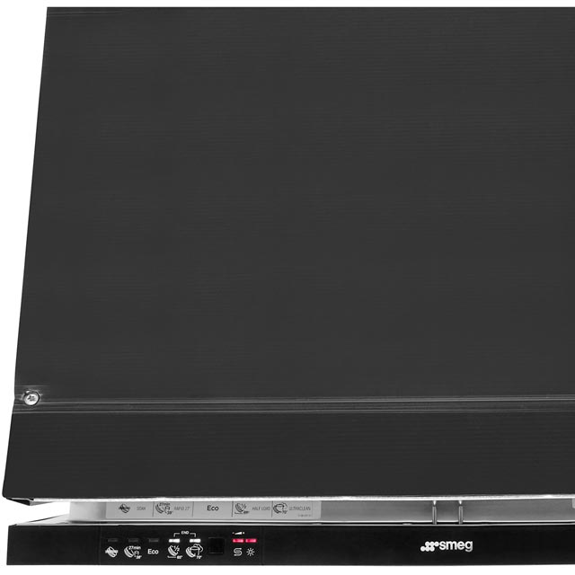 Smeg DI613AE Built In Standard Dishwasher - Black - DI613AE_BK - 3