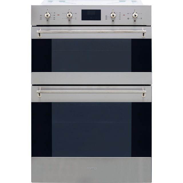 Smeg Classic DOSF6300X Built In Double Oven - Stainless Steel - DOSF6300X_SS - 1
