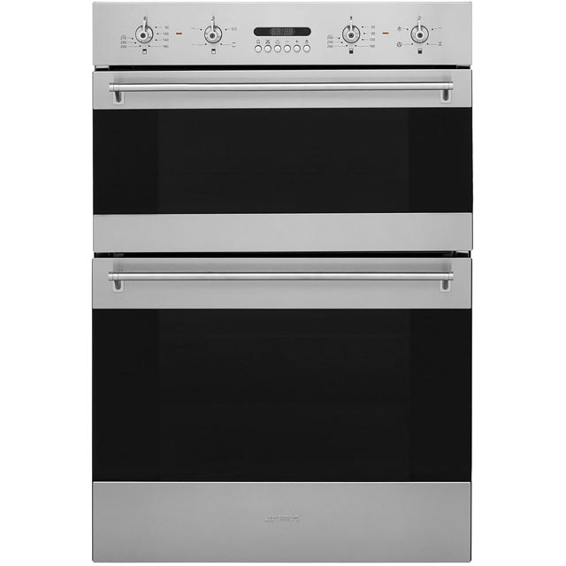 Smeg Classic DOSF634X Built In Electric Double Oven - Stainless Steel - DOSF634X_SS - 1