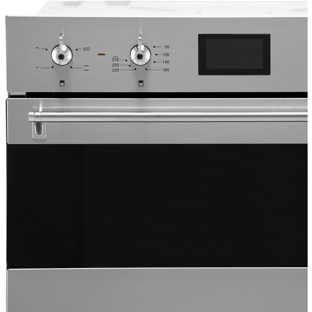 Smeg Classic DOSF6390X Built In Double Oven - Stainless Steel - DOSF6390X_SS - 2