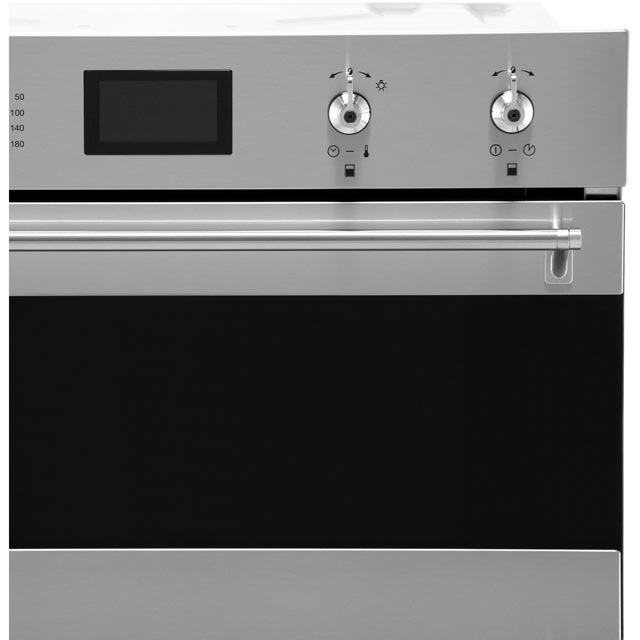 Smeg Classic DOSF6390X Built In Double Oven - Stainless Steel - DOSF6390X_SS - 3