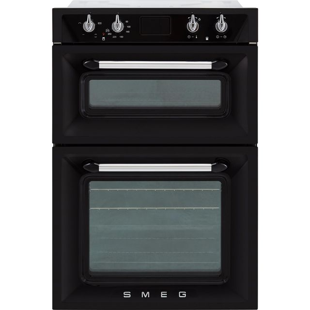 Smeg Victoria DOSF6920N1 Built In Double Oven - Black - DOSF6920N1_BK - 1
