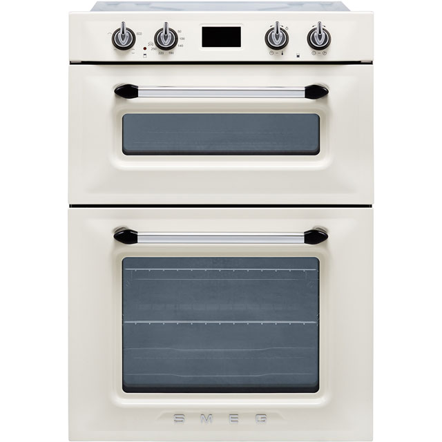 Smeg Victoria DOSF6920P1 Built In Electric Double Oven - Cream - DOSF6920P1_CR - 1