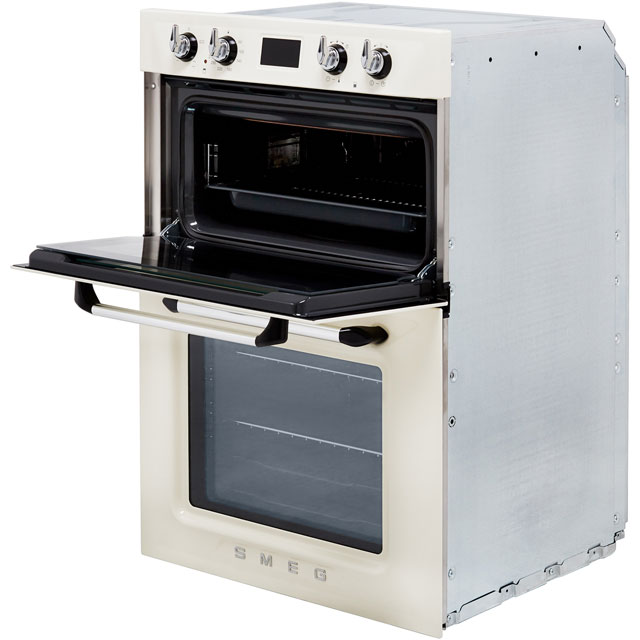 Smeg Victoria DOSF6920N1 Built In Double Oven - Black - DOSF6920N1_BK - 5