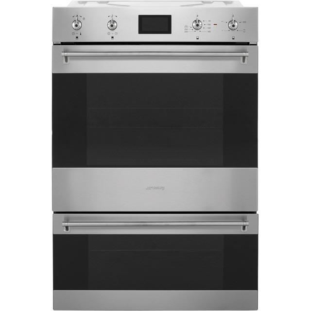 Smeg Classic DOSP6390X Built In Double Oven - Stainless Steel - A/A Rated - DOSP6390X_SS - 1