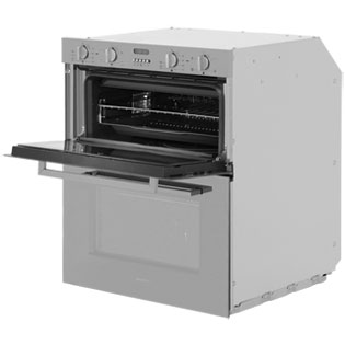 Smeg Cucina DUSF44X Built Under Double Oven - Stainless Steel - DUSF44X_SS - 3