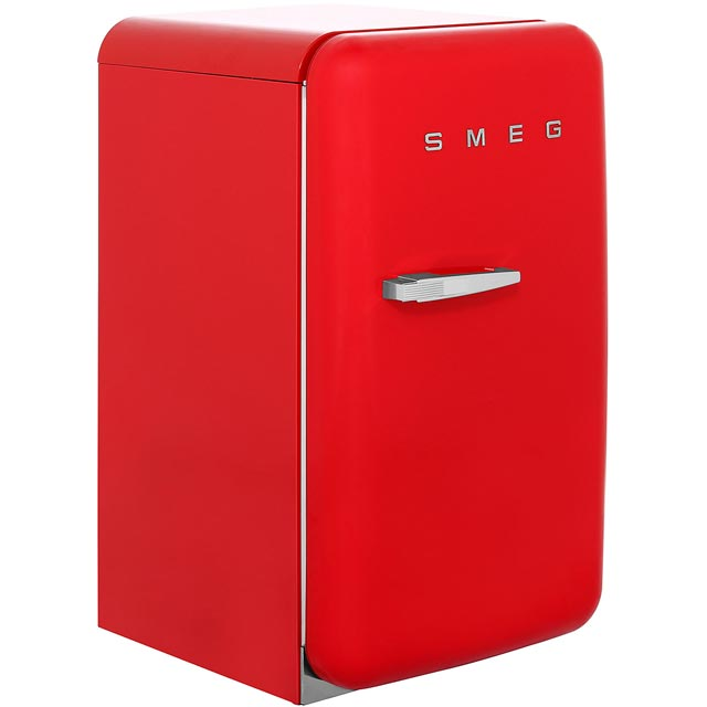 Smeg FAB10RR Fridge with Ice Box - Red - A+ Rated