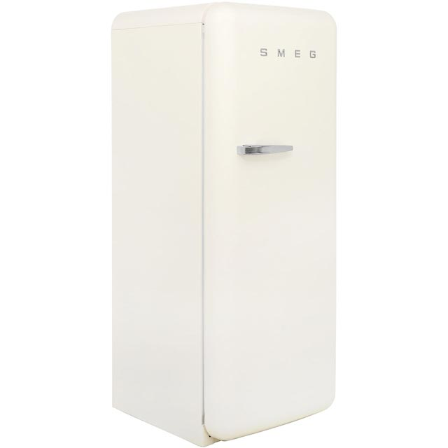 Smeg Right Hand Hinge FAB28QB1 Fridge with Ice Box - White - A++ Rated - FAB28QB1_WH - 1