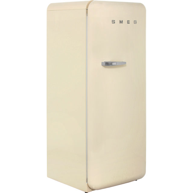 Smeg Right Hand Hinge FAB28QP1 Fridge with Ice Box - Cream - A++ Rated - FAB28QP1_CR - 1