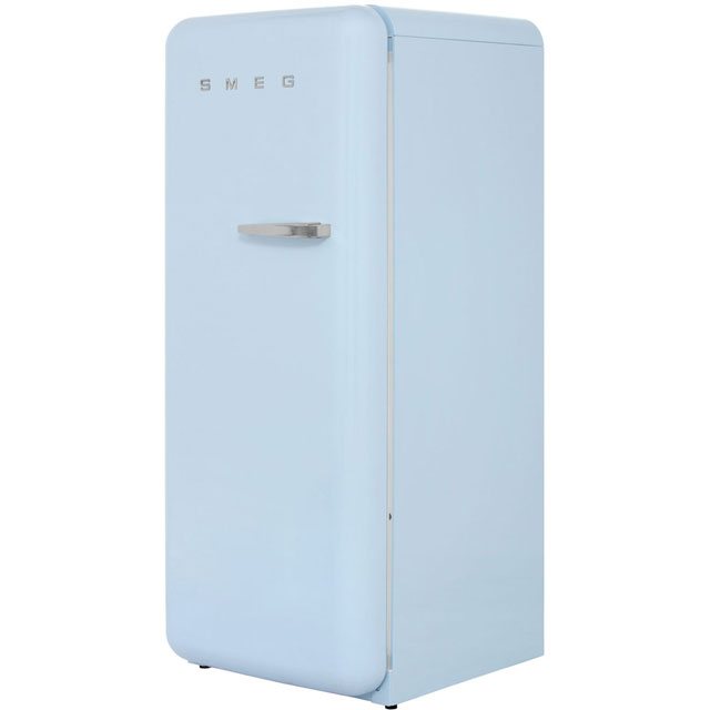 Smeg Left Hand Hinge FAB28YAZ1 Fridge with Ice Box - Pastel Blue - A++ Rated - FAB28YAZ1_PB - 1