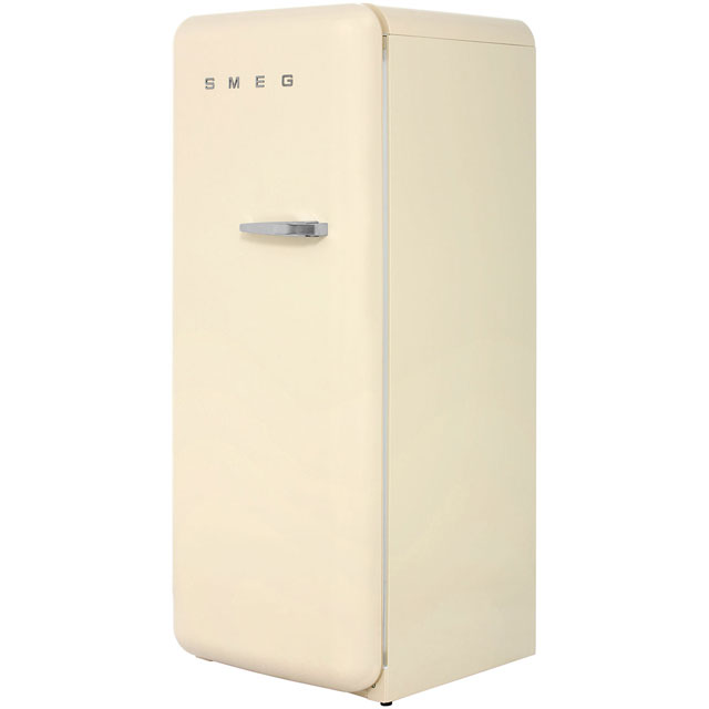 Smeg Left Hand Hinge FAB28YP1 Fridge with Ice Box - Cream - A++ Rated - FAB28YP1_CR - 1