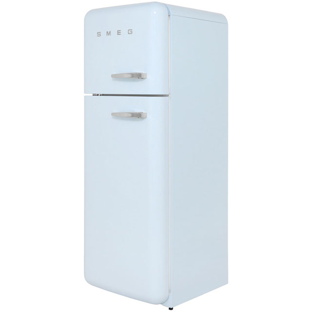 Smeg Left Hand Hinge FAB30LFA 70/30 Fridge Freezer - Pastel Blue - A++ Rated