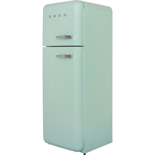 Smeg Left Hand Hinge FAB30LFG 70/30 Fridge Freezer - Pastel Green - A++ Rated - FAB30LFG_PG - 1