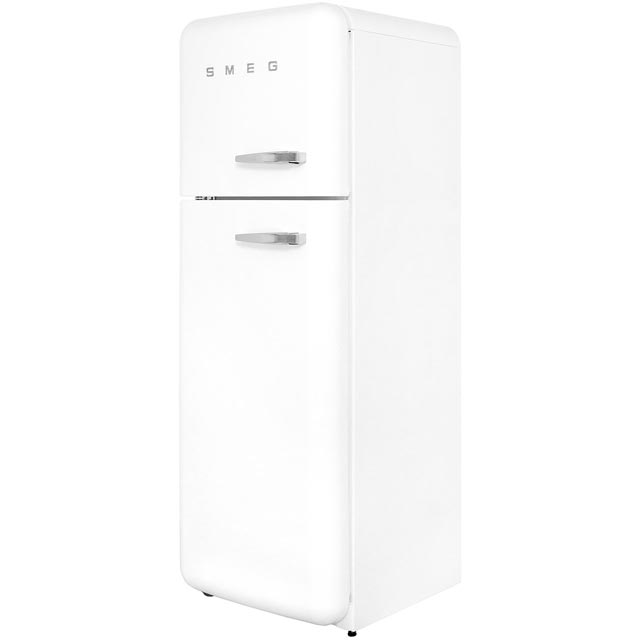 Smeg Left Hand Hinge 70/30 Fridge Freezer - White - A++ Rated