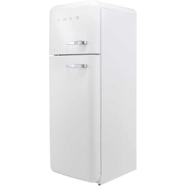 Smeg Left Hand Hinge FAB30LWH3UK 70/30 Fridge Freezer - White - A+++ Rated - FAB30LWH3UK_WH - 1