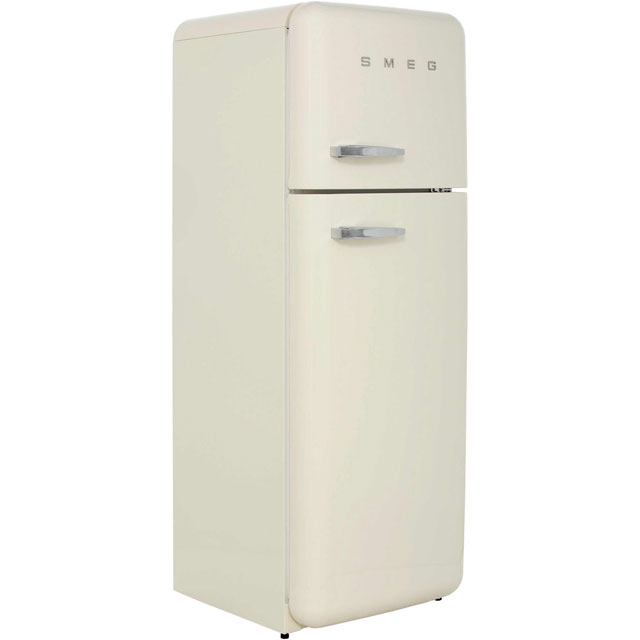 Smeg Right Hand Hinge 70/30 Fridge Freezer - Cream - A++ Rated
