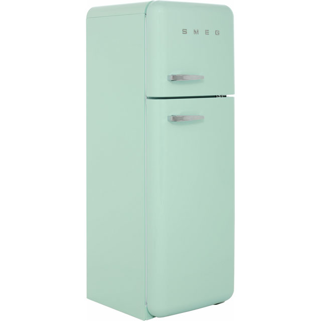 Smeg Right Hand Hinge FAB30RFG 70/30 Fridge Freezer - Pastel Green - A++ Rated