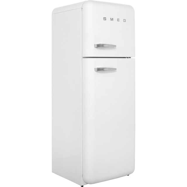 Smeg Right Hand Hinge 70/30 Fridge Freezer - White - A++ Rated