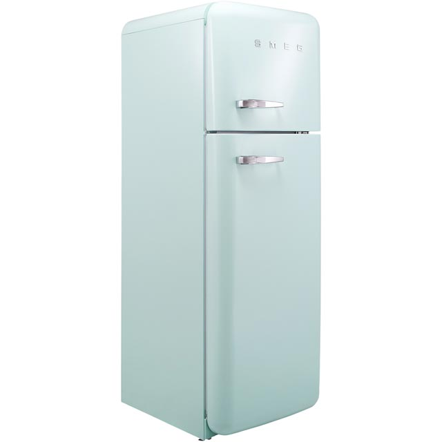 Smeg Right Hand Hinge FAB30RPG3UK 70/30 Fridge Freezer - Pastel Green - A+++ Rated - FAB30RPG3UK_PG - 1