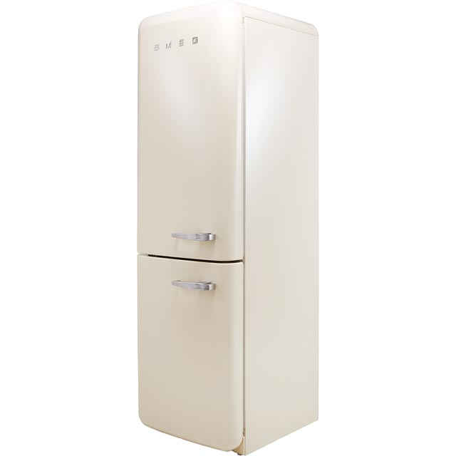 Smeg Left Hand Hinge FAB32LCR3UK 60/40 Frost Free Fridge Freezer - Cream - A+++ Rated - FAB32LCR3UK_CR - 1