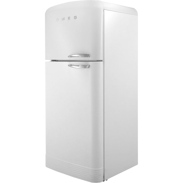 Smeg Left Hand Hinge FAB50LWH 80/20 Frost Free Fridge Freezer - White - A++ Rated - FAB50LWH_WH - 1