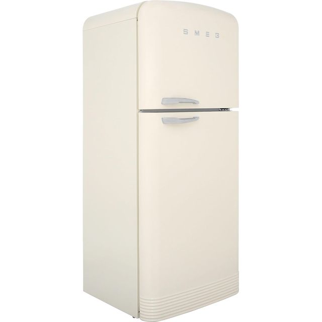 Smeg Right Hand Hinge 80/20 Frost Free Fridge Freezer - Cream - A++ Rated