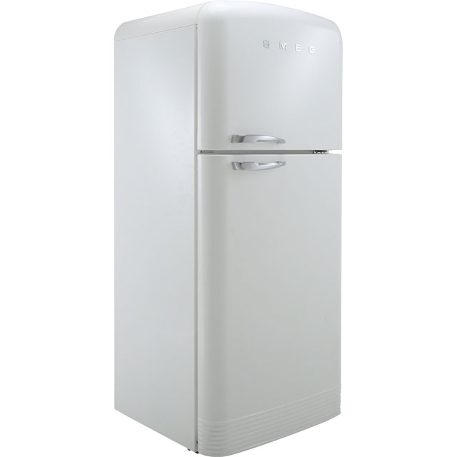 Smeg Right Hand Hinge 80/20 Frost Free Fridge Freezer - White - A++ Rated