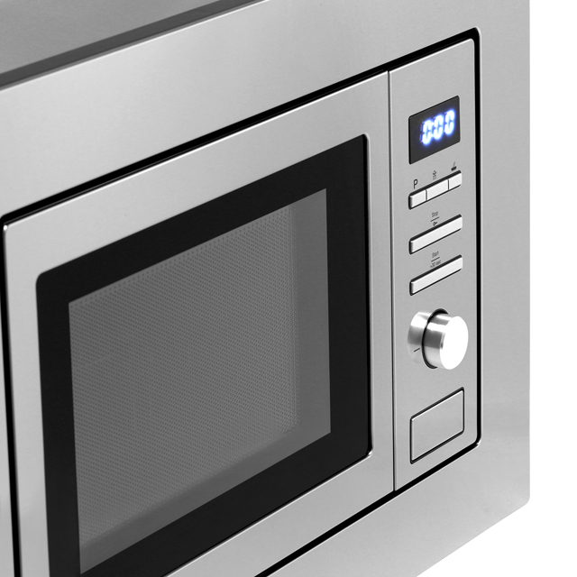 Smeg FMI017X Built In Microwave With Grill - Stainless Steel - FMI017X_SS - 4