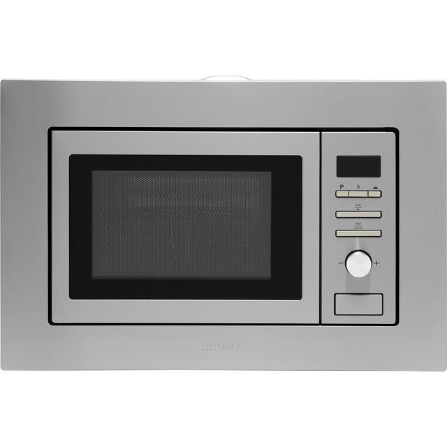 Smeg FMI020X Built In Microwave With Grill - Stainless Steel - FMI020X_SS - 1