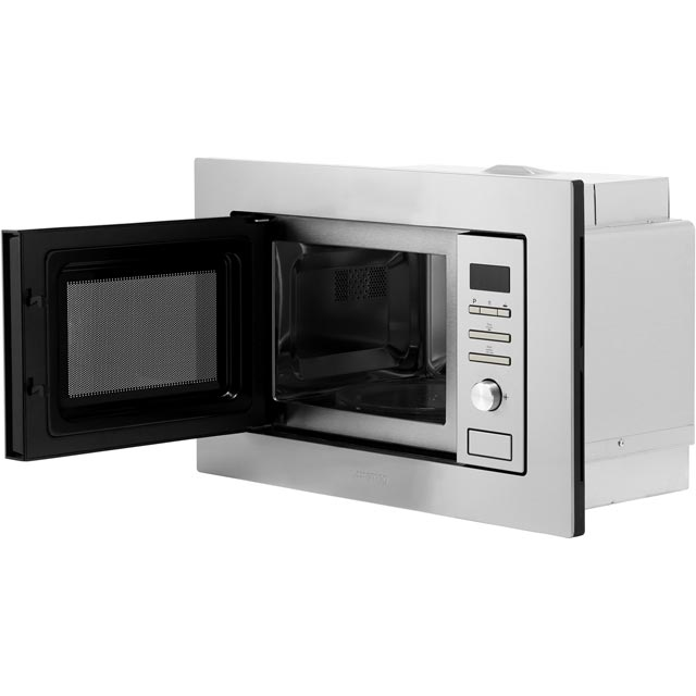 Smeg FMI020X Built In Microwave With Grill - Stainless Steel - FMI020X_SS - 4