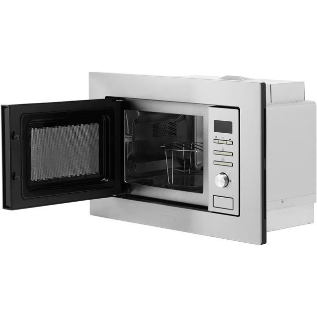 Smeg FMI020X Built In Microwave With Grill - Stainless Steel - FMI020X_SS - 5