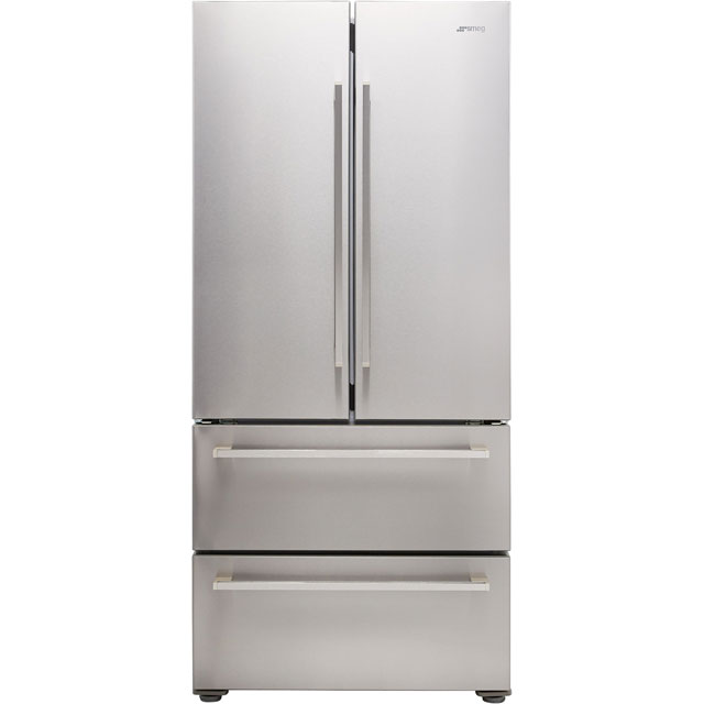 Smeg FQ55FX1 American Fridge Freezer - Stainless Steel - FQ55FX1_SS - 1