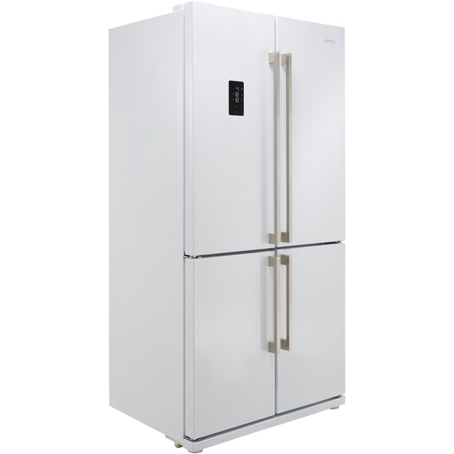 Smeg FQ60BPE American Fridge Freezer - White - A+ Rated Best Price, Cheapest Prices