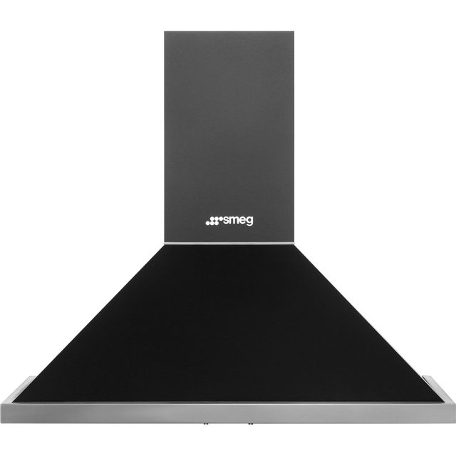 Smeg Portofino KPF9AN 90 cm Chimney Cooker Hood - Anthracite - A+ Rated - KPF9AN_AI - 1
