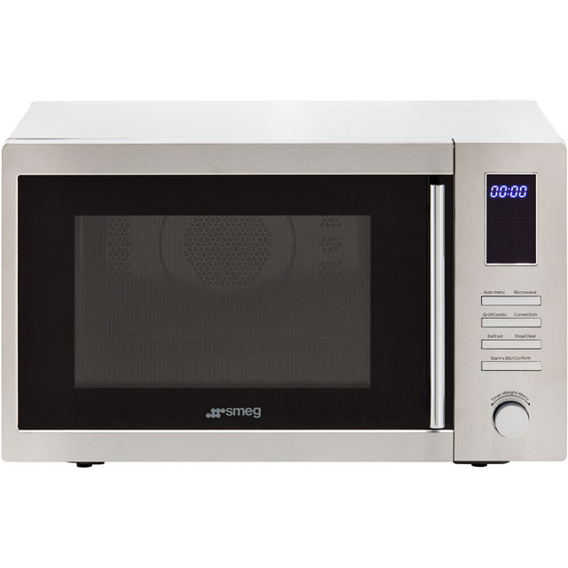 Smeg MOE34CXI 34 Litre Combination Microwave Oven - Stainless Steel