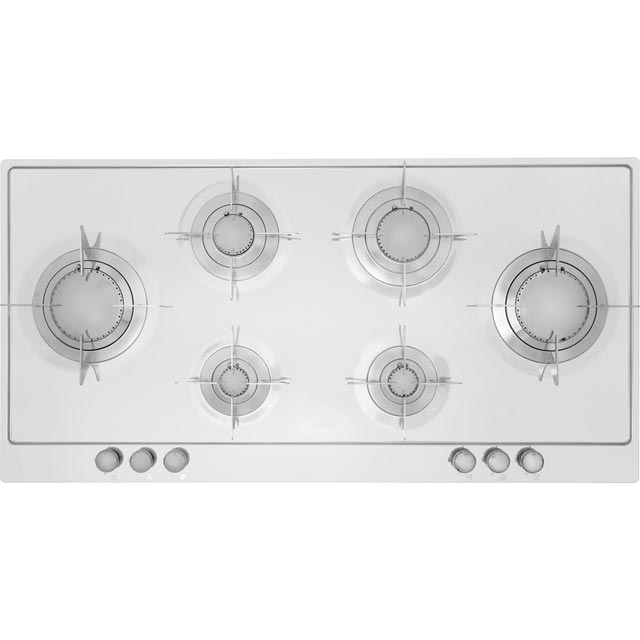 Smeg Piano Design P106ES Built In Gas Hob - Stainless Steel - P106ES_SS - 1