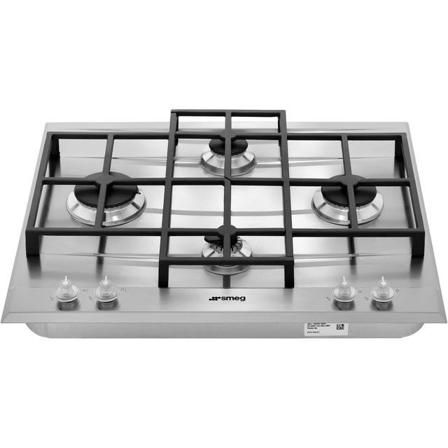 Smeg Linea P1640X Built In Gas Hob - Stainless Steel - P1640X - 5