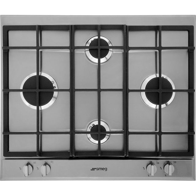 Smeg Cucina P260XGH Built In Gas Hob - Stainless Steel - P260XGH_SS - 3