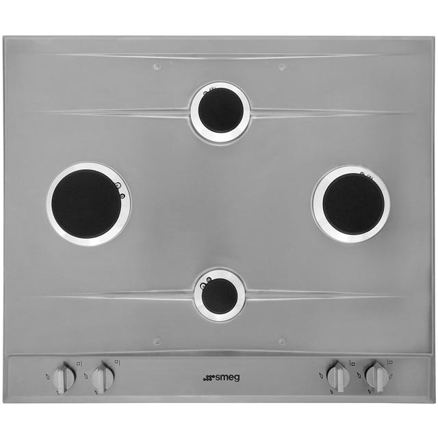Smeg Cucina P260XGH Built In Gas Hob - Stainless Steel - P260XGH_SS - 4