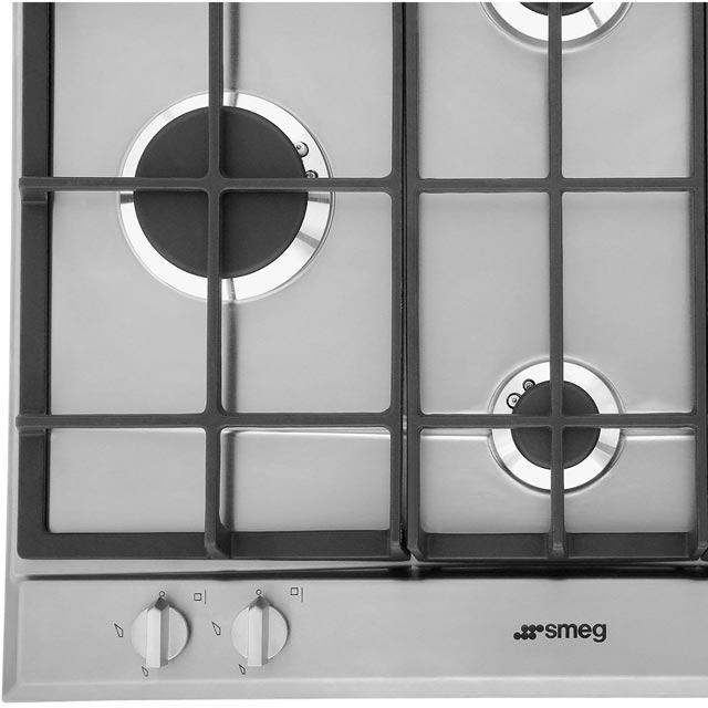 Smeg Cucina P260XGH Built In Gas Hob - Stainless Steel - P260XGH_SS - 5