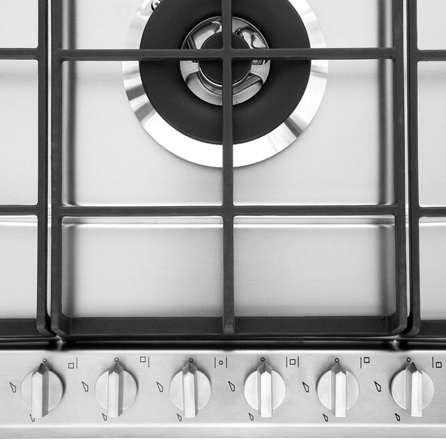 Smeg Cucina P272XGH Built In Gas Hob - Stainless Steel - P272XGH_SS - 3