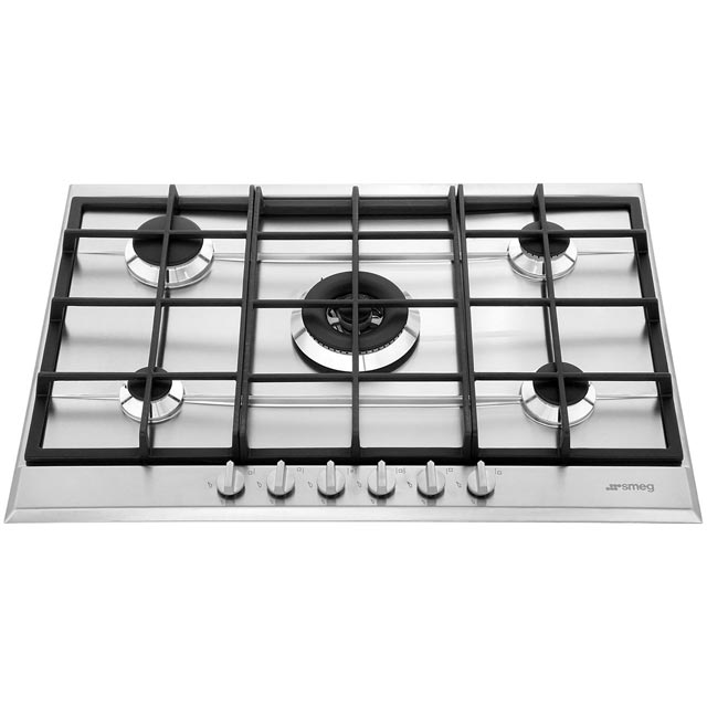 Smeg Cucina P272XGH Built In Gas Hob - Stainless Steel - P272XGH_SS - 5