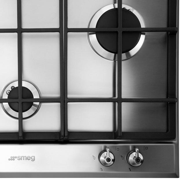 Smeg Classic P360XGH Built In Gas Hob - Stainless Steel - P360XGH_SS - 4