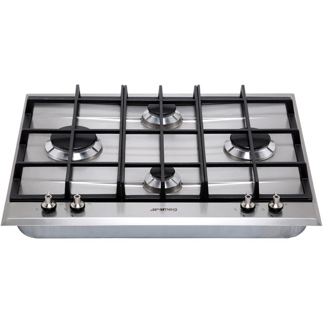 Smeg Classic P360XGH Built In Gas Hob - Stainless Steel - P360XGH_SS - 5