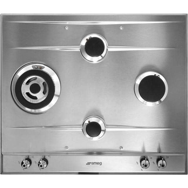 Smeg Classic P361XGH Built In Gas Hob - Stainless Steel - P361XGH_SS - 2