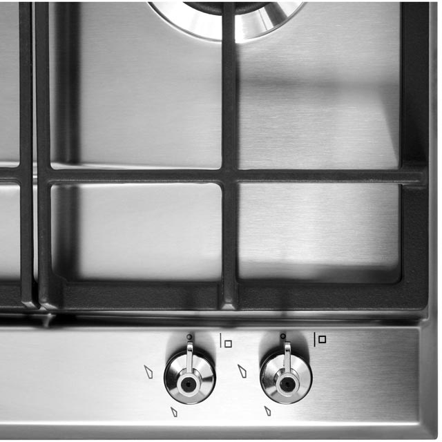 Smeg Classic P361XGH Built In Gas Hob - Stainless Steel - P361XGH_SS - 4