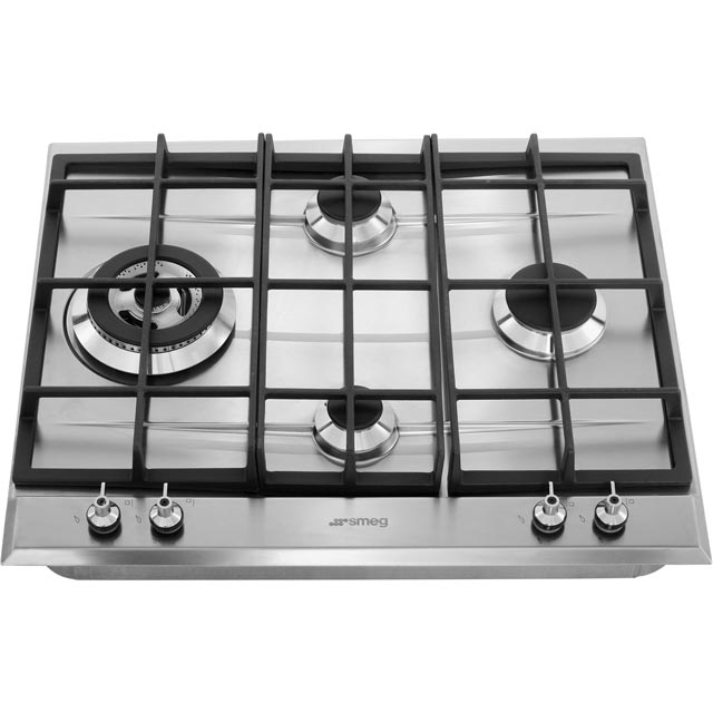Smeg Classic P361XGH Built In Gas Hob - Stainless Steel - P361XGH_SS - 5