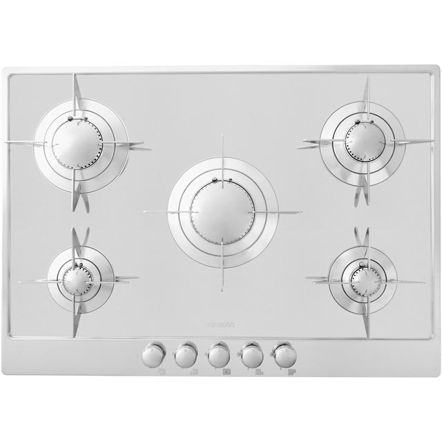 Smeg Piano Design Integrated Gas Hob in Stainless Steel
